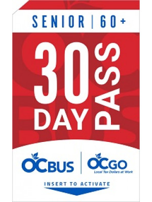 SENIOR 30-DAY PASS