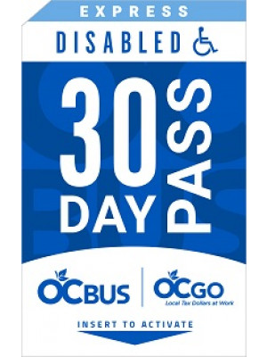 EXPRESS DISABLED 30-DAY PASS