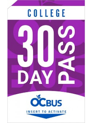 COLLEGE 30-DAY PASS