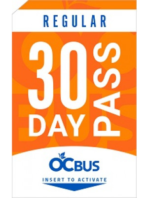 REGULAR 30-DAY PASS