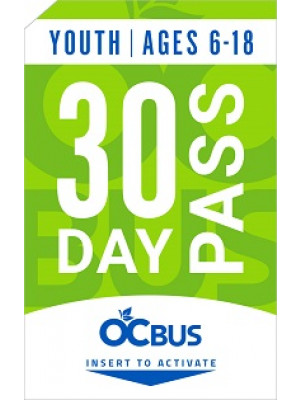 YOUTH 30-DAY PASS