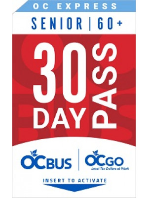 OC EXPRESS SENIOR 30-DAY PASS