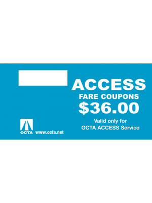 ACCESS FARE COUPONS