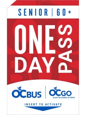 SENIOR 1-DAY PASS